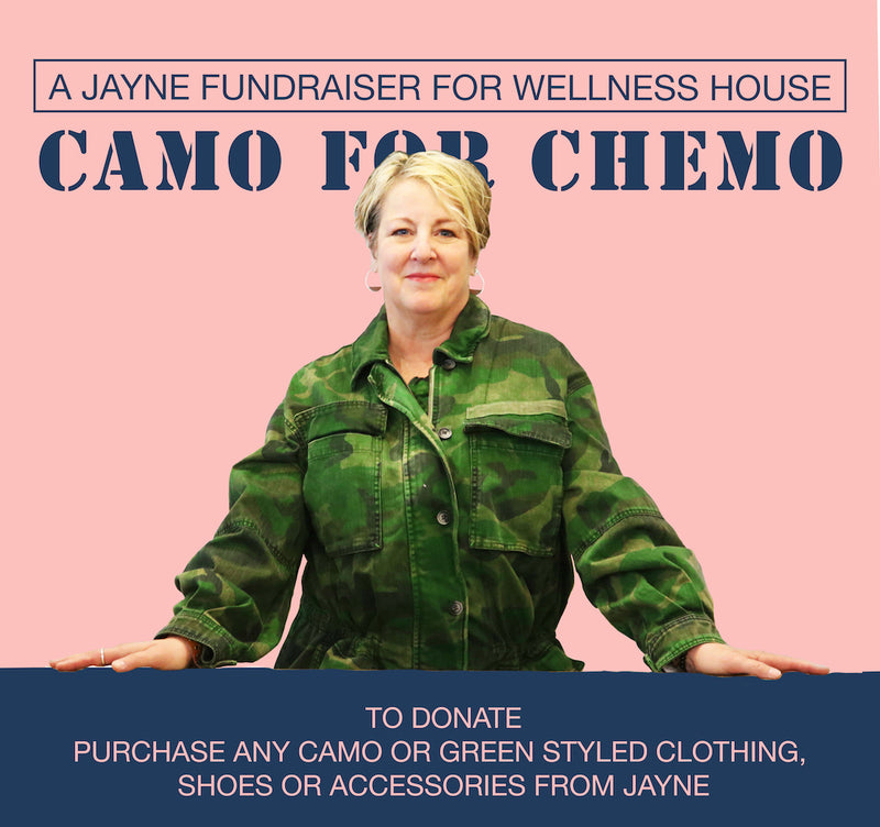 CAMO FOR CHEMO FUNDRAISER! September 27th-29th!
