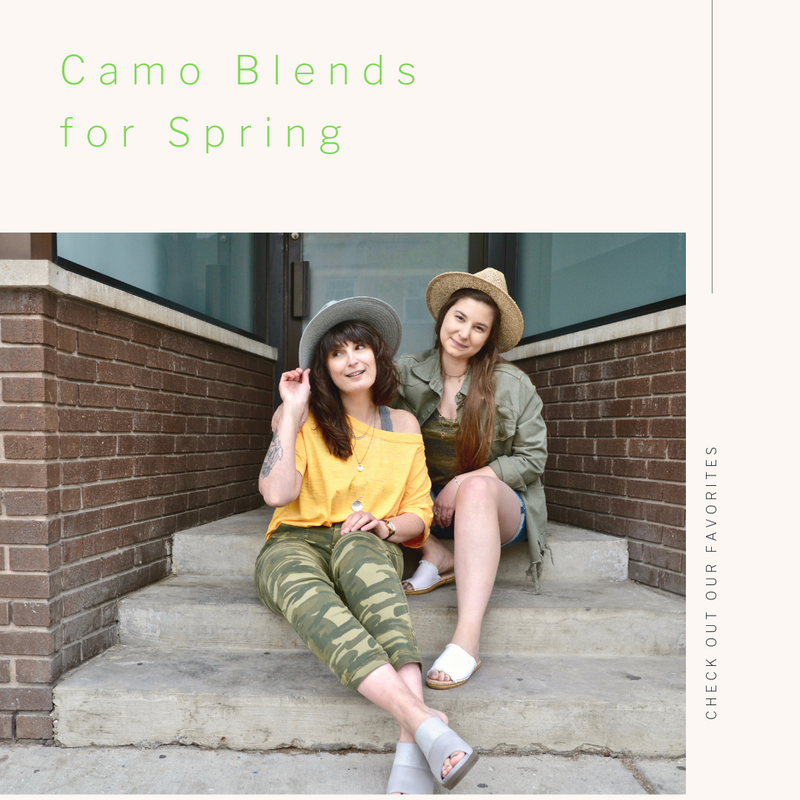 Our Favorite Trend of the Season: Camo Blends!