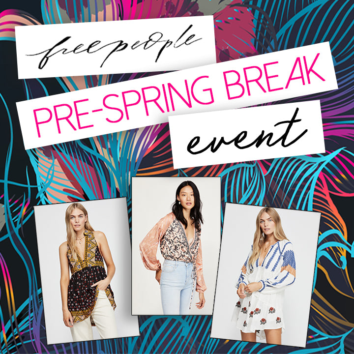 Free People Spring Break Essentials