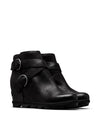 Sorel Joan of Arctic Wedge II Buckle Boot in Black