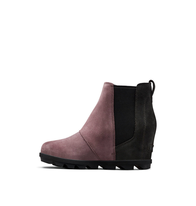 Sorel Joan Of Arctic Wedge II Chelsea Boot in Purple Sage
