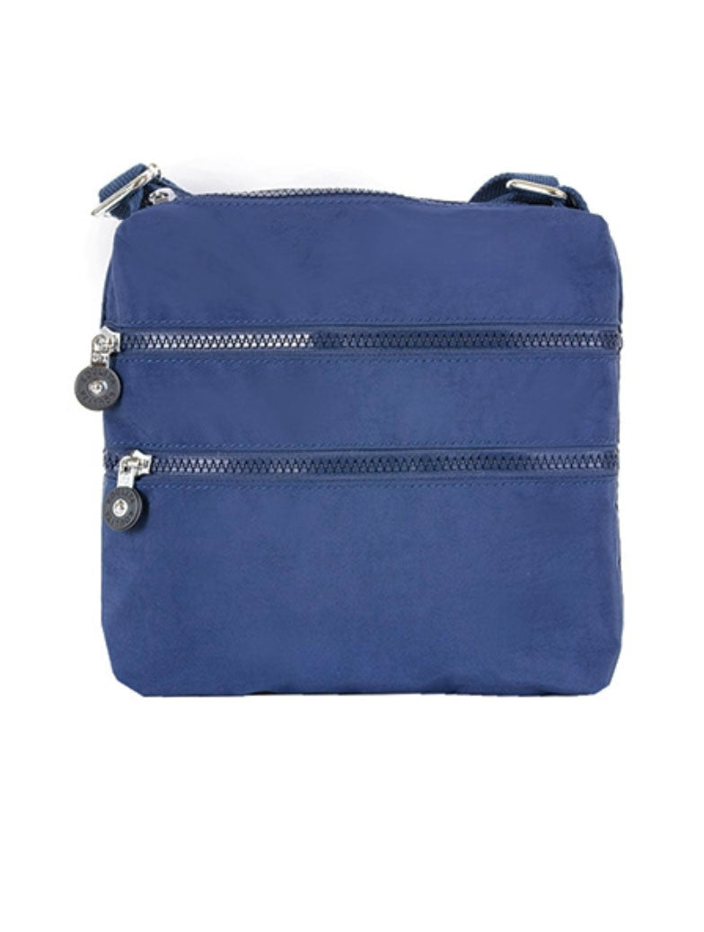 22 Tote Nylon Zipper Bag in Royal Blue