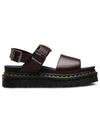 Dr. Martens Voss Leather Strap Sandal in Brando
