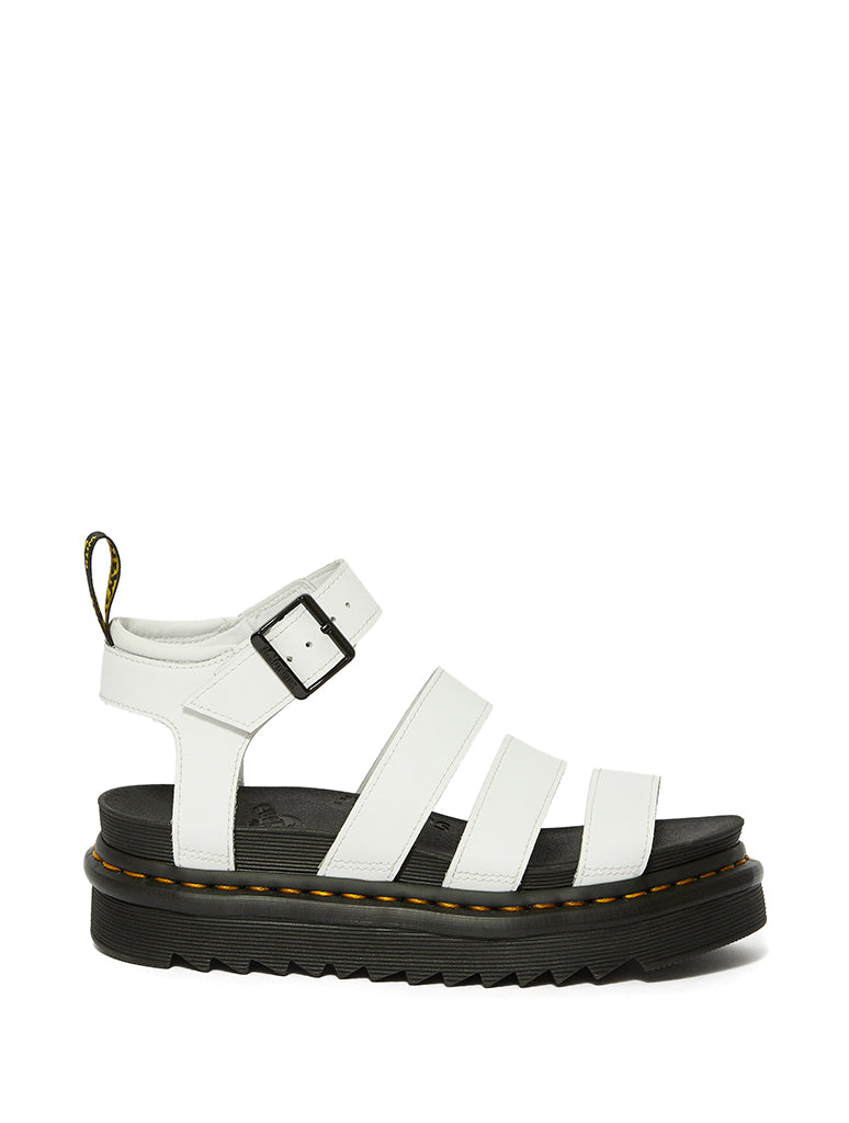 Dr. Martens Blaire Gladiator Sandals in White