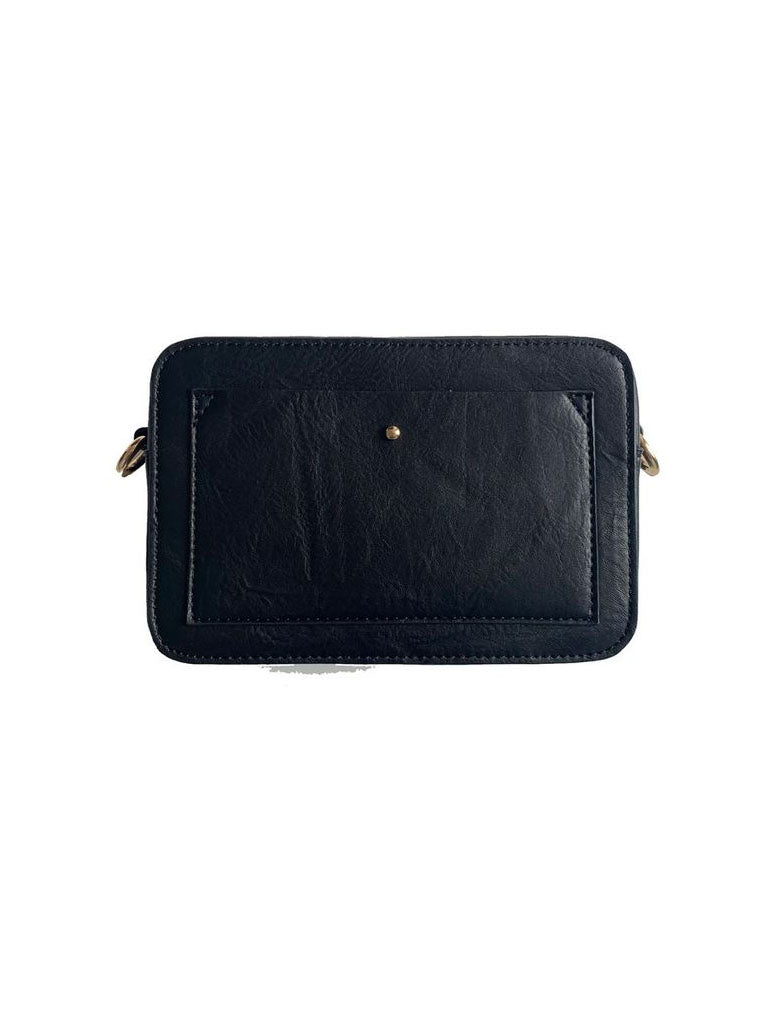 Ahdorned Vegan Camera Bag in Black