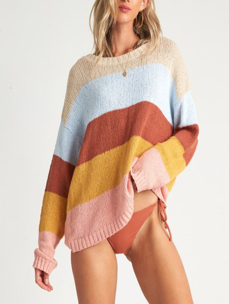 Billabong Lost Paradise Sweater in Multi