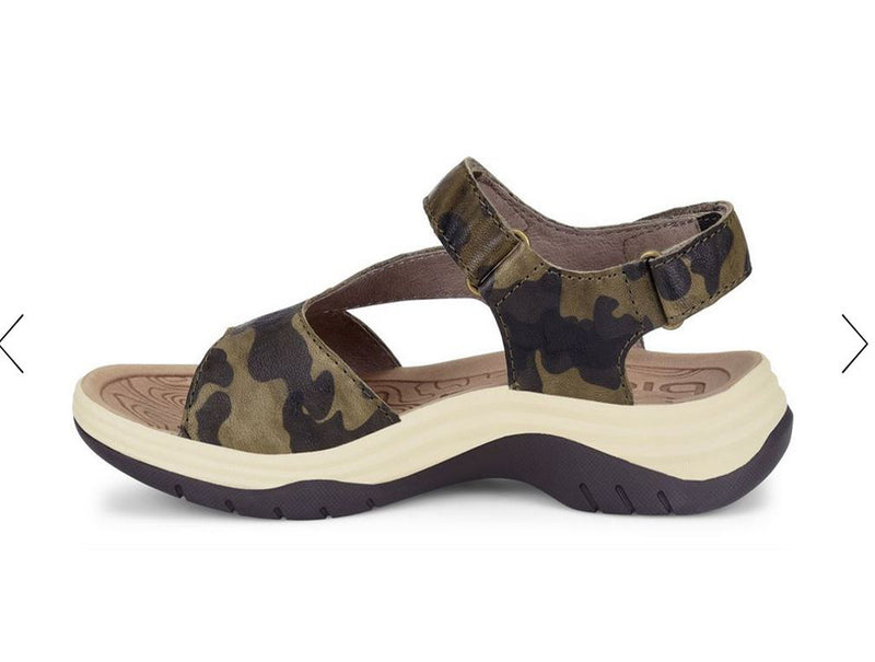 Bionica Norrie Active Sandal in Olive Camo