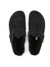 Birkenstock Boston Shearling in Black - Regular Width