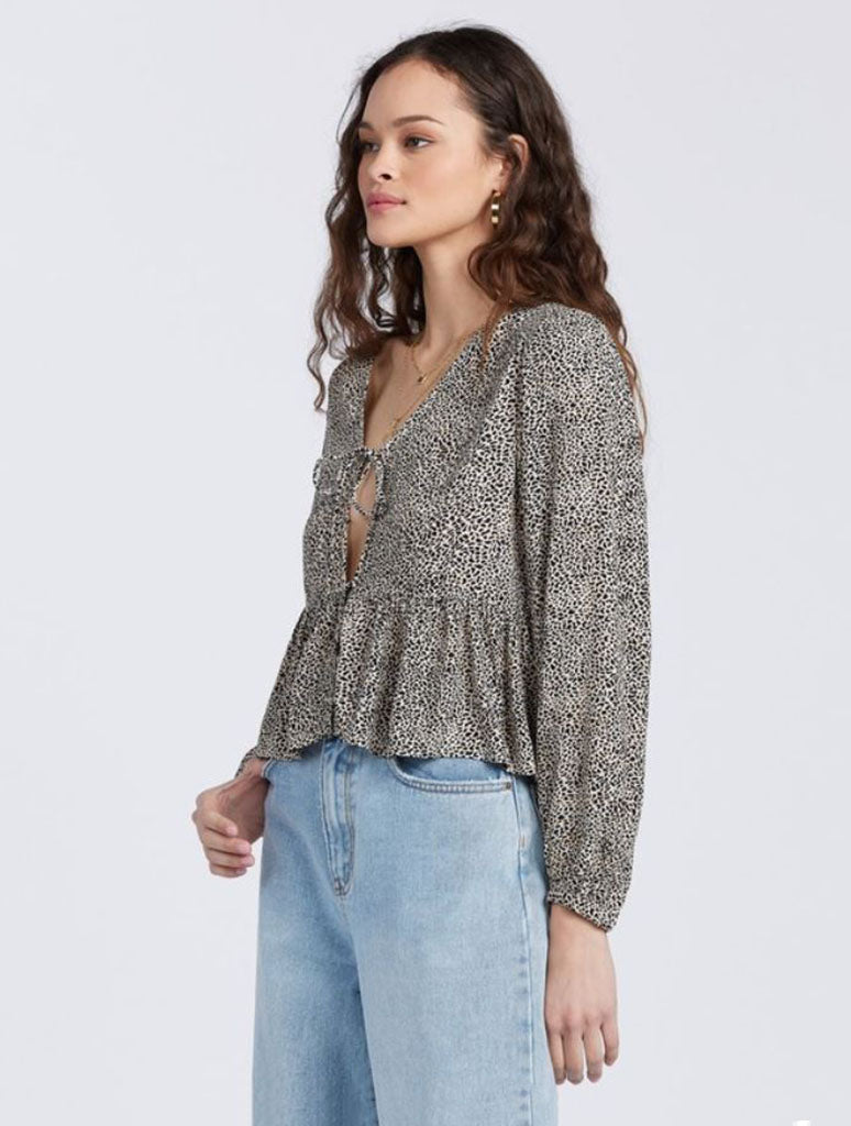 Billabong After Dark Crop Top in Sahara