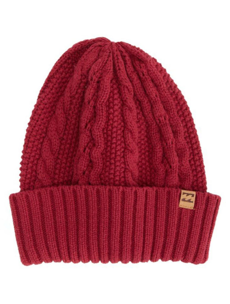 Billabong Brisk Nite Beanie in Paprika