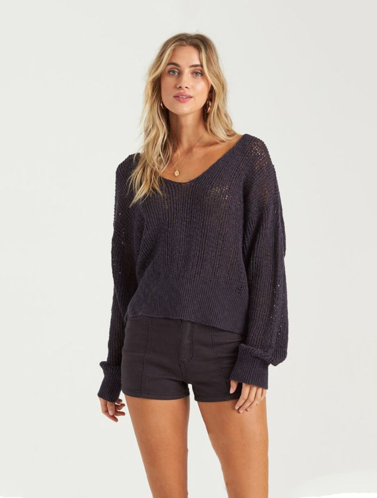 Billabong Feel the Breeze Sweater in Ink