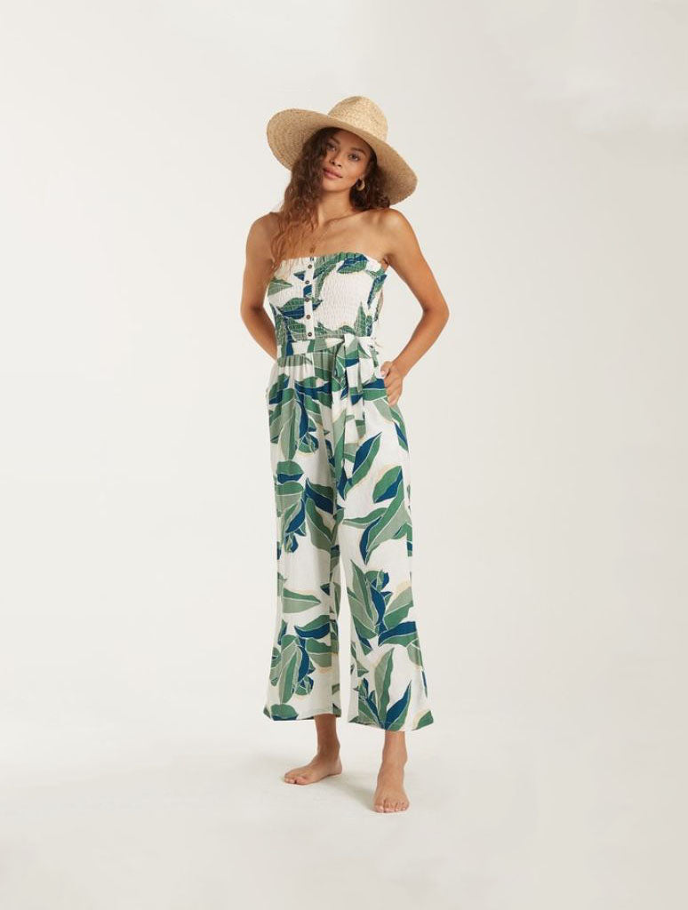 Billabong Forward Feelin Jumpsuit in Cool Wip