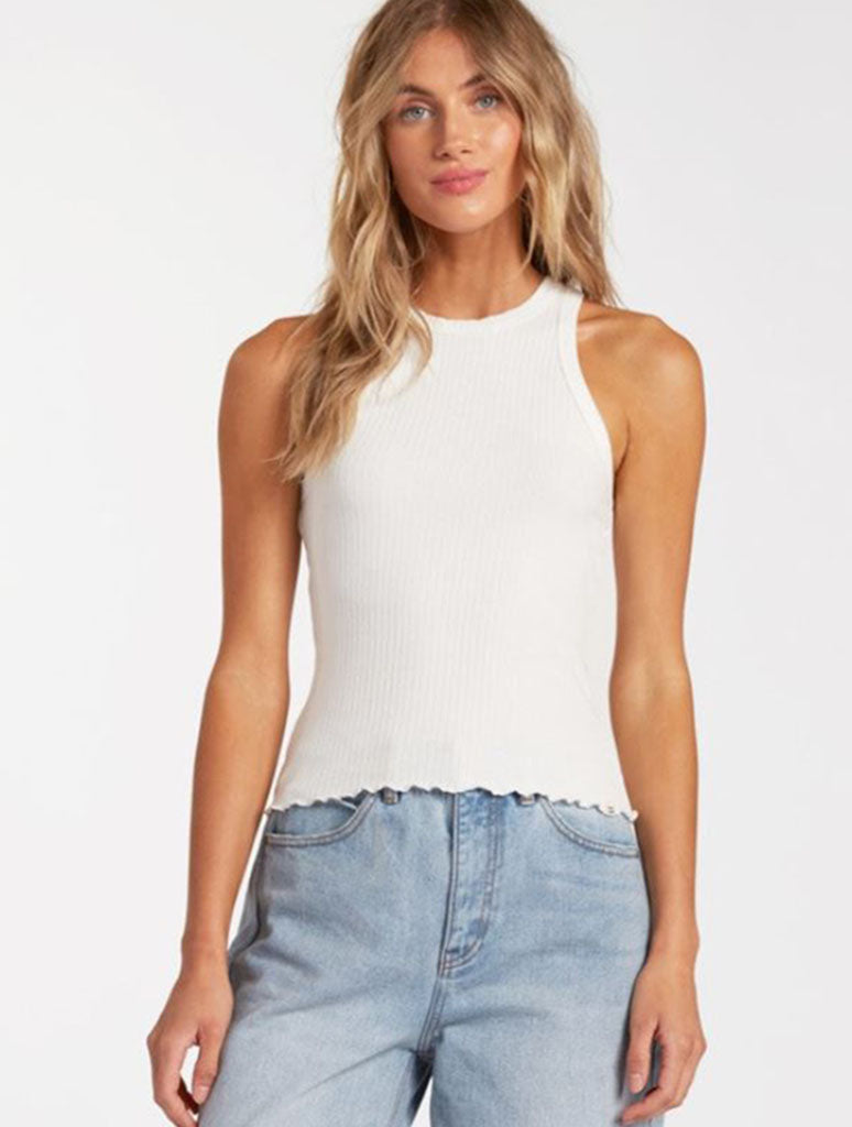 Billabong Tomboy Tank Top in Salt Crystal