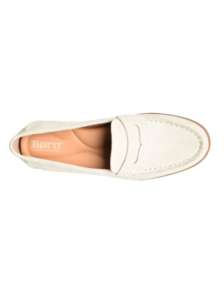 Born Bly Loafer in Cream