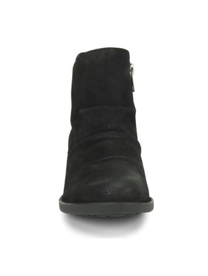 Born Falco Ruched Bootie in Black