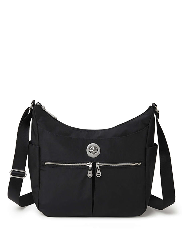 Baggallini Bristol Crossbody Hobo in Black