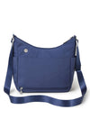 Baggallini Bristol Crossbody Hobo Bag in Indigo Sky