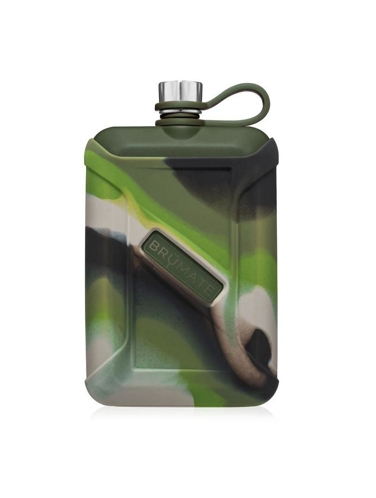 Brumate 8oz Canteen in Green Camo