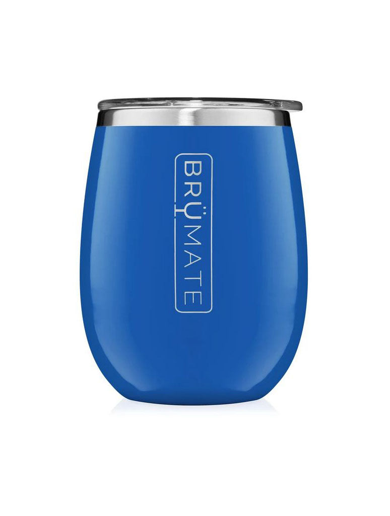 BrüMate Wine Tumbler in Royal Blue