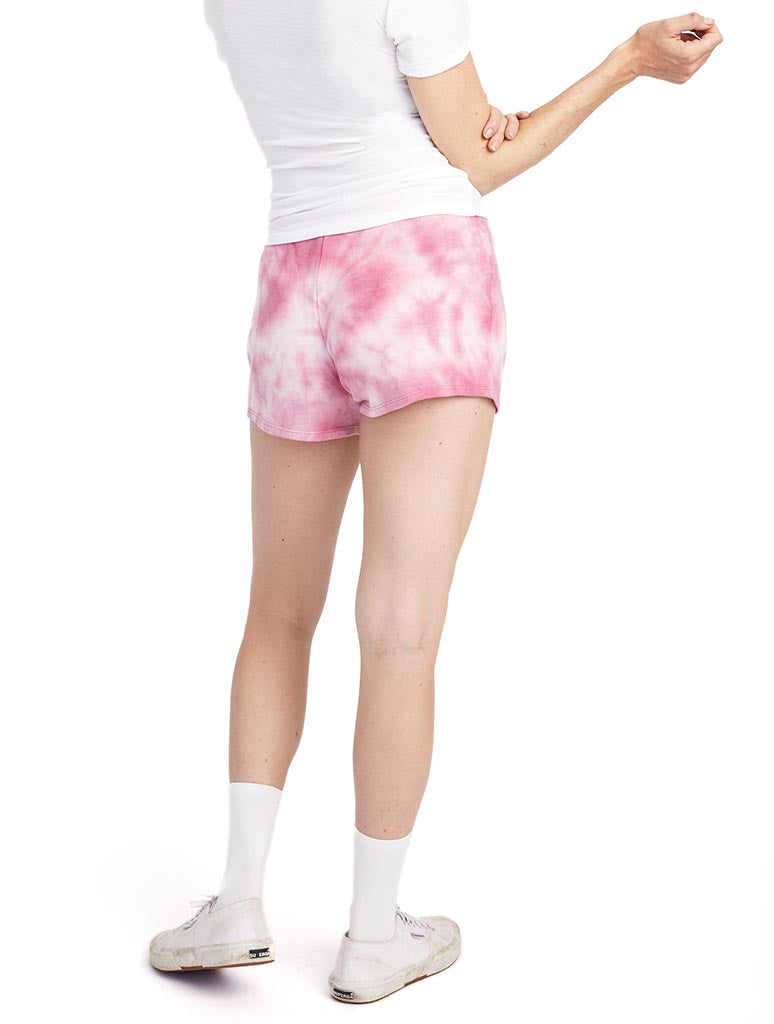 Alternative Apparel Cozy Short in Rose Wine