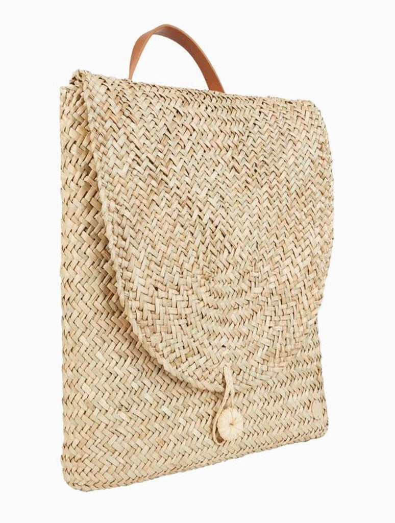 Billabong Changing Tide Straw Backpack in Natural