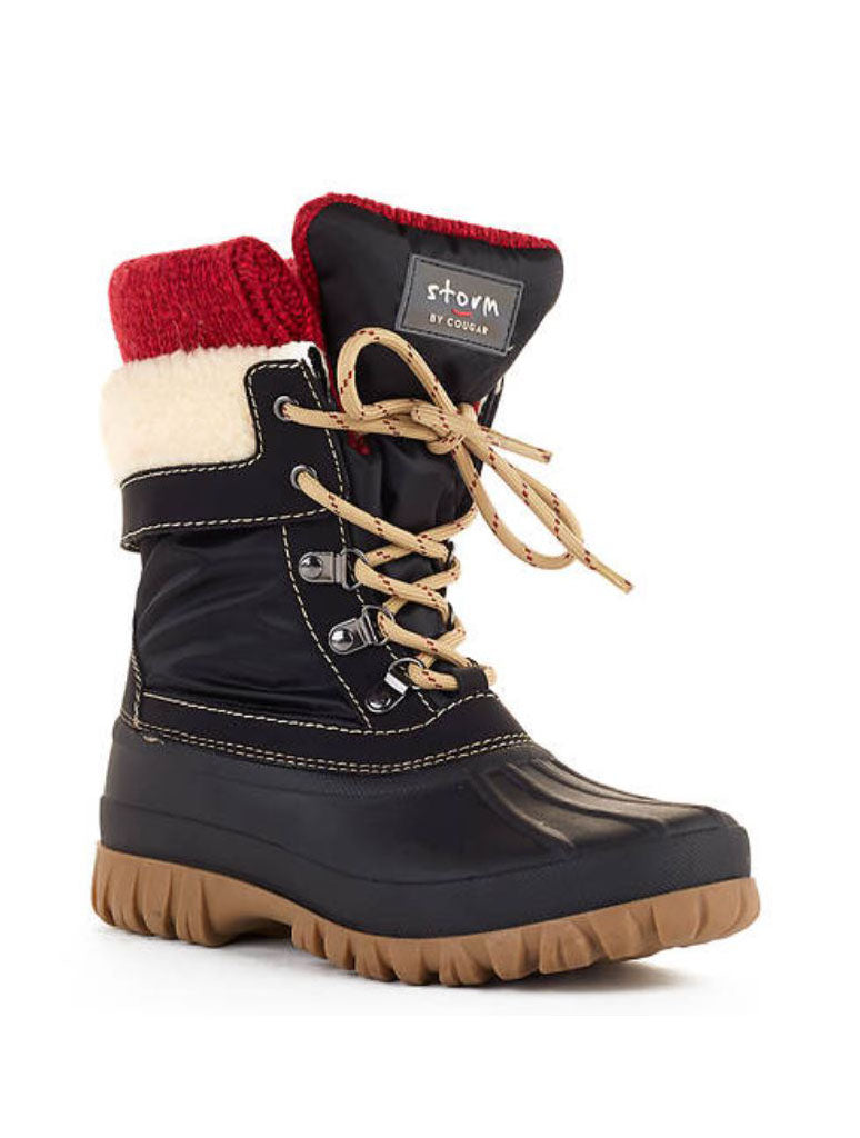 Storm by Cougar Creek Boot in Black Red