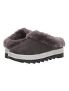 Cougar Pronya Shearling Mule in Pewter