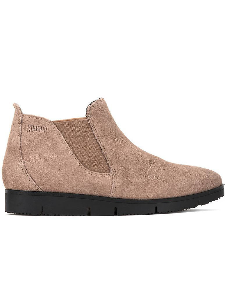 Cougar Sass Chelsea Boot in Taupe