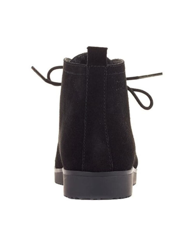 Cougar Snack Bootie in Black Suede