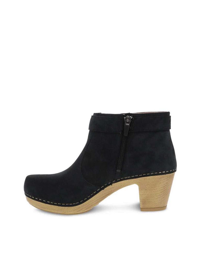 Dansko Autumn Heeled Boot in Black