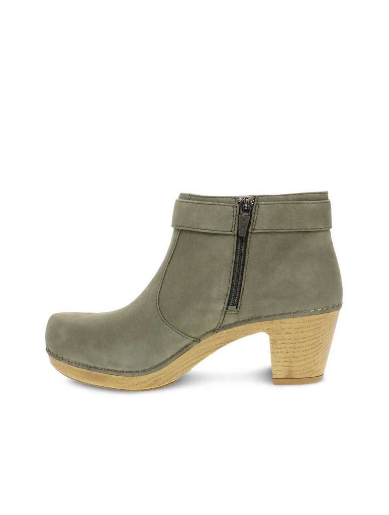 Dansko Autumn Heeled Boot in Sage