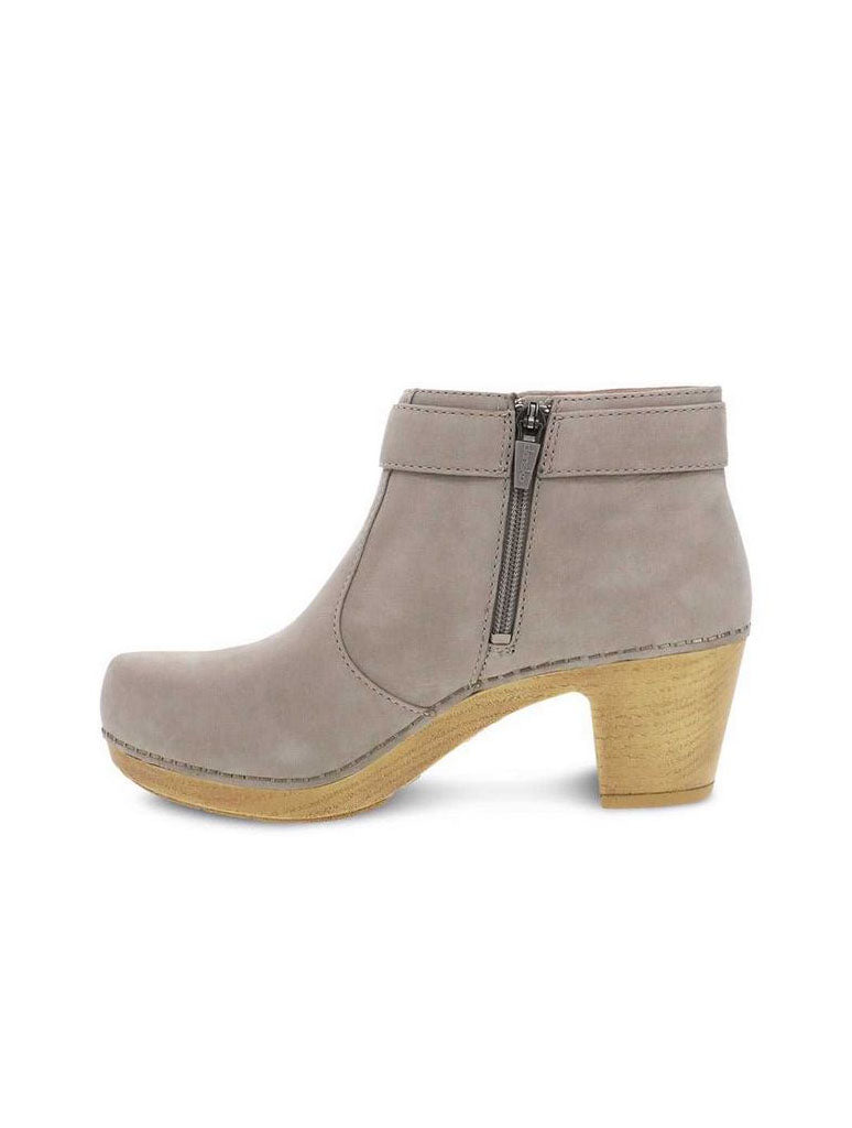 Dansko Autumn Heeled Boot in Taupe