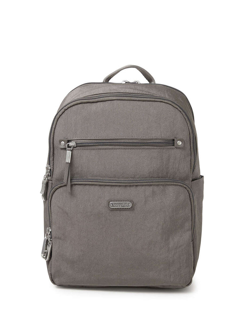 Baggallini Explorer Backpack in Sterling Shimmer
