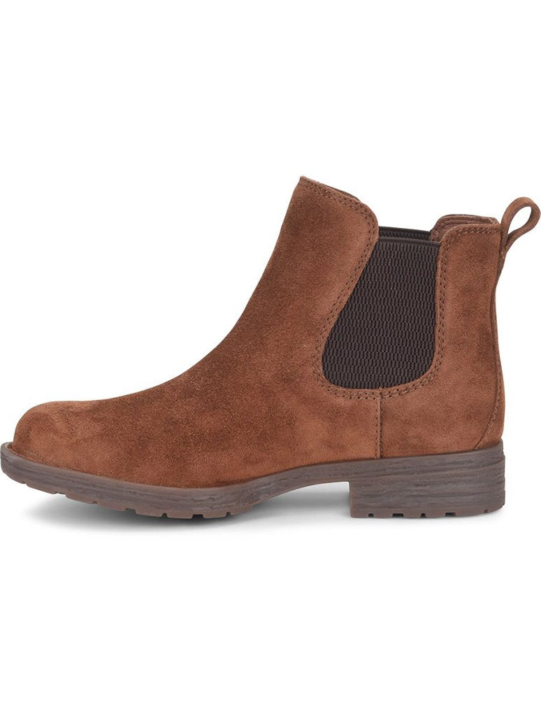 Born Cove Slip On Chelsea Bootie in Brown