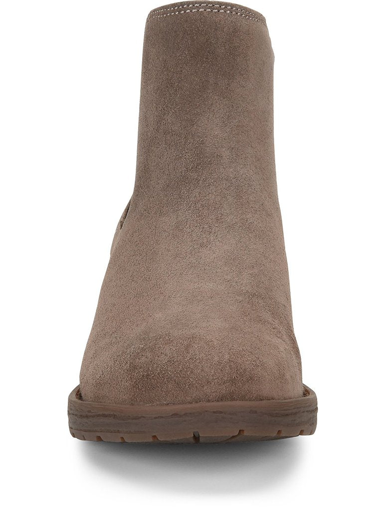 Born Cove Slip On Chelsea Bootie in Taupe