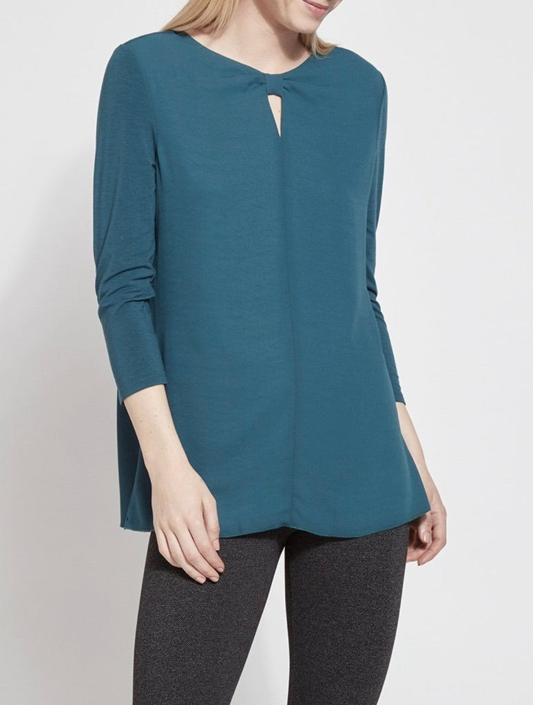 Lysse Caton Blouse in Peacock