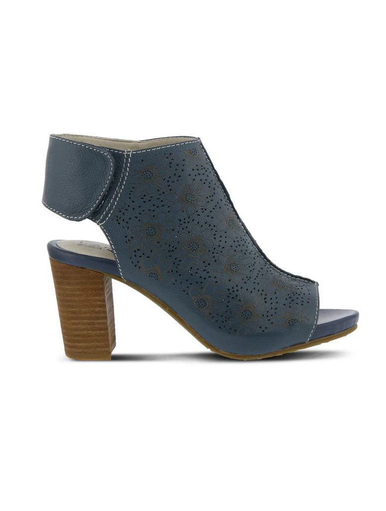 L'Artiste by Spring Step Fab Sandal in Blue