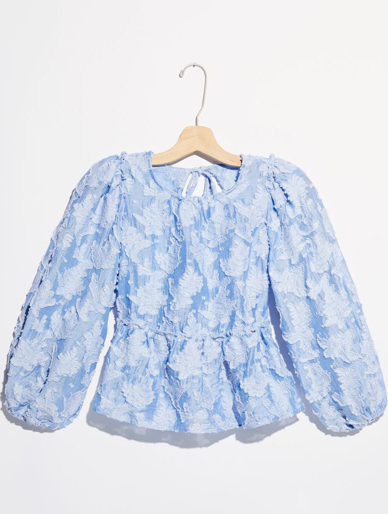 Free People Callie Top in Bluemoon Quartz