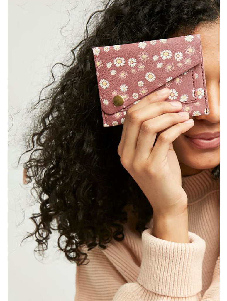 Free People Sol Fold Wallet in Daisy
