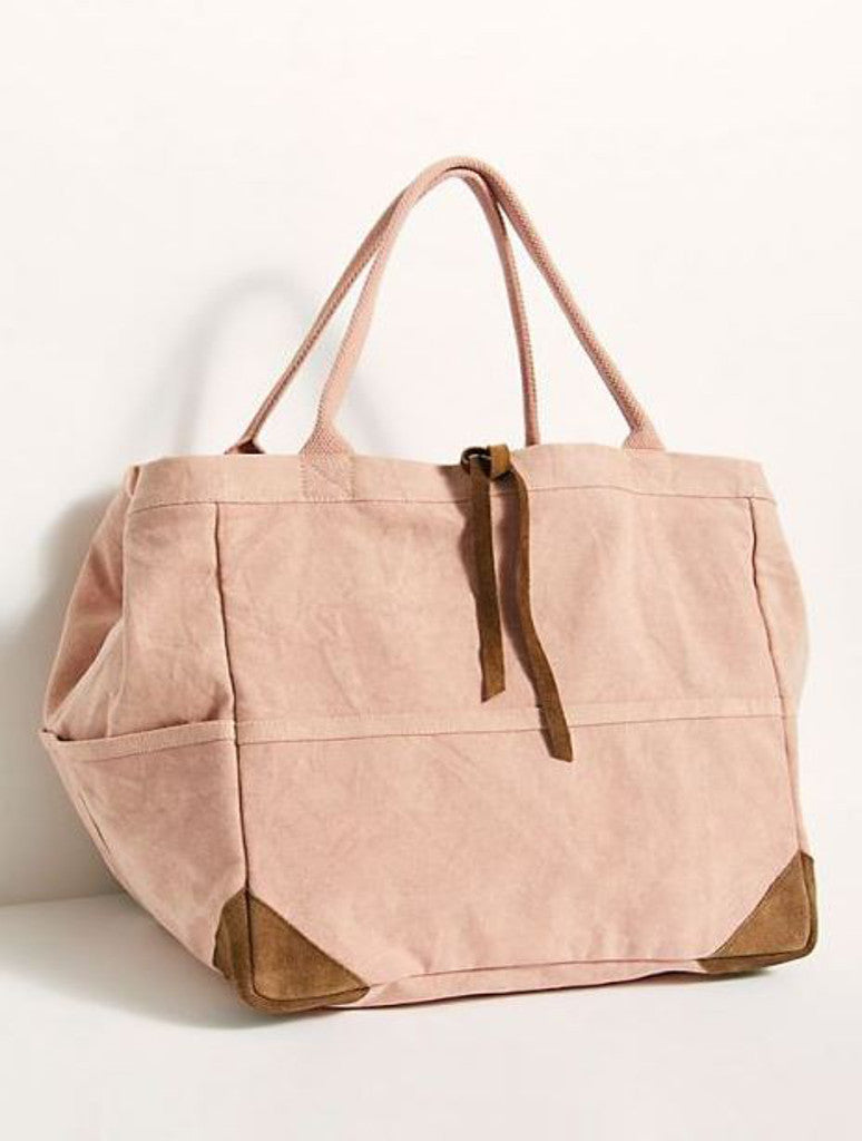 Free People Fremont Tote in Pink