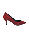 Sofft Adien Short Gored Bootie in Mosto Red Suede