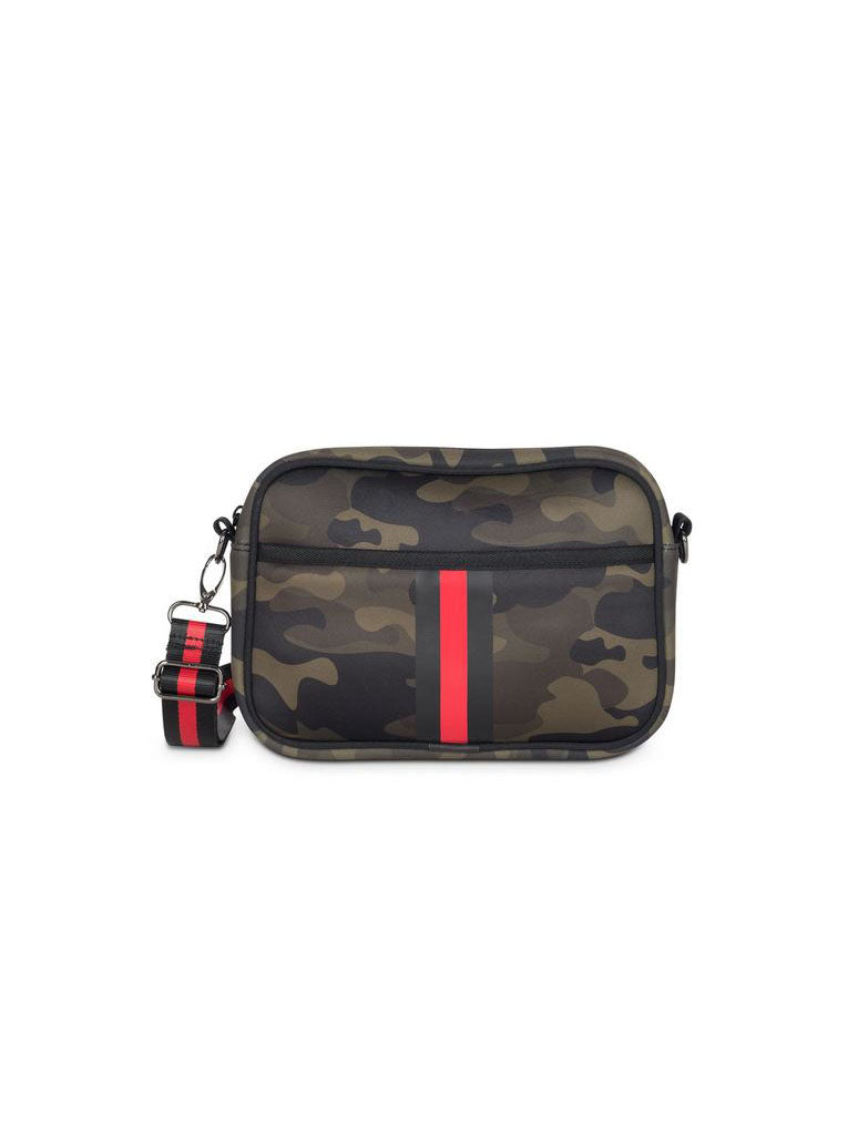 Haute Shore Drew Brat Crossbody in Green Camo