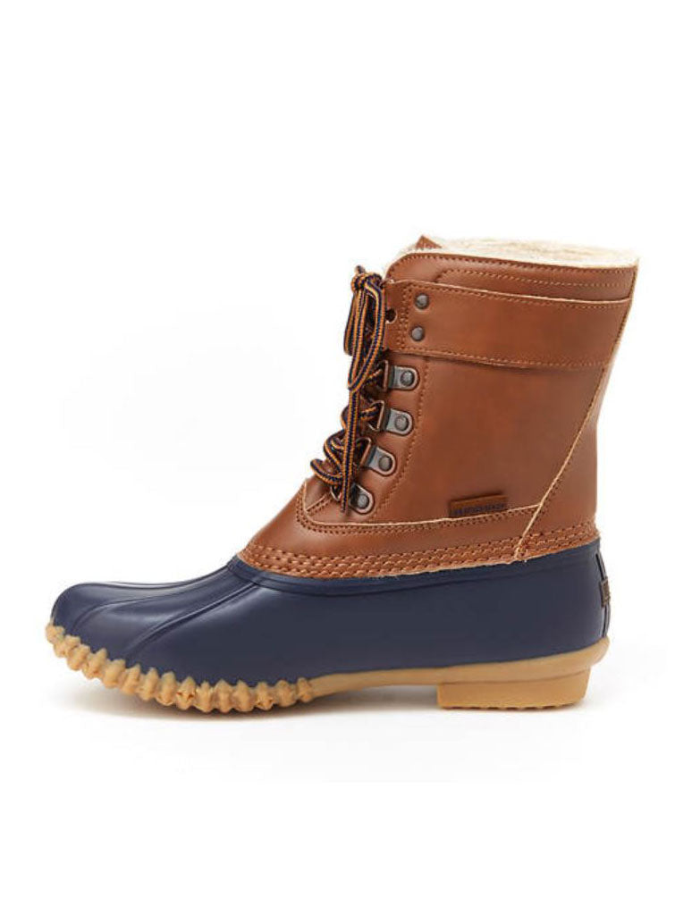Jambu Vancouver Duck Boot in Navy Tan