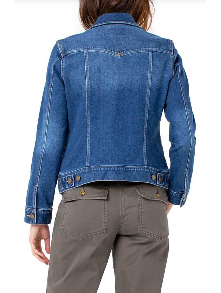 Liverpool Classic Jean Jacket in Francis