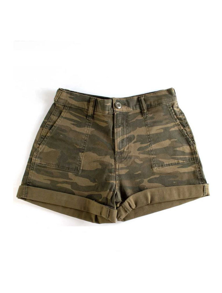 Lucky Brand Mid Cargo Shorts in Camo