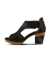LArtiste Hibiskus Perf Peep in Black