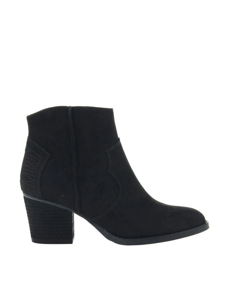 Madeline Girl Wild West Ankle Boot in Black