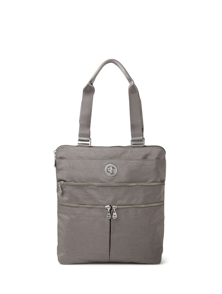 Baggallini Milan Tote in Sterling Shimmer