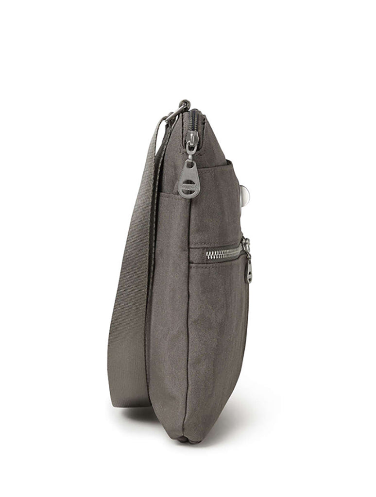 Baggallini Madras Crossbody Bag in Sterling Shimmer