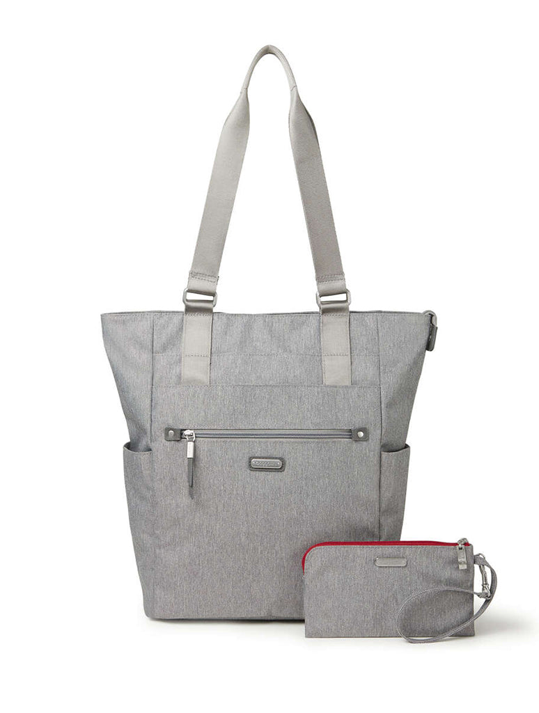 Baggallini Make Way Tote in Stone
